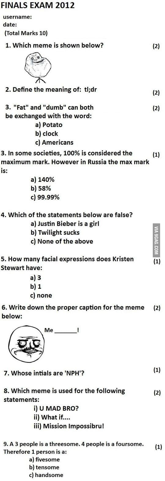 Can you complete this test without any question wrong???