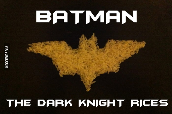 BATMAN - THE DARK KNIGHT RICES