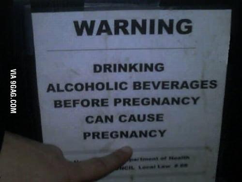 Drinking is Dangerous