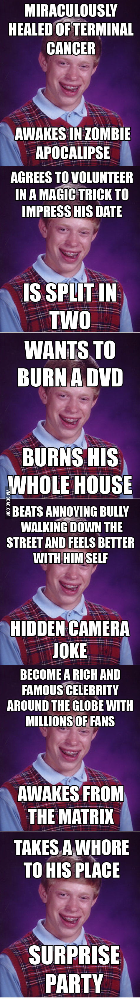More bad luck to Brian