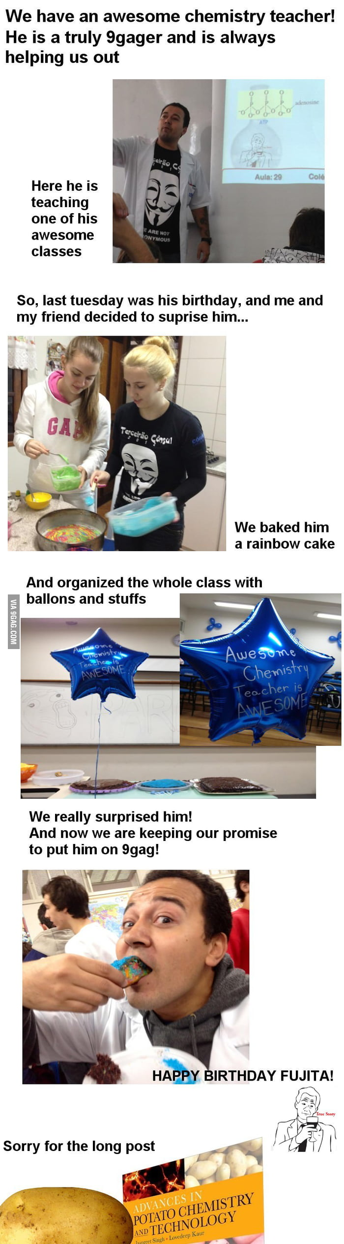 Awesome Chemistry Teacher is AWESOME!