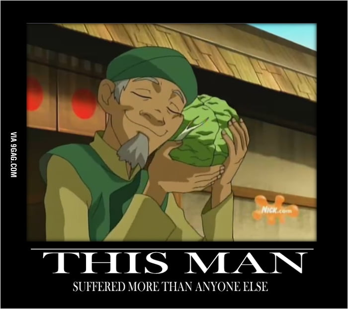 Poor Cabbage Man
