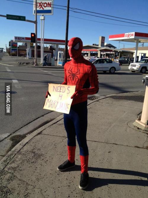 Spider-Man need $
