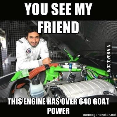 Goat power