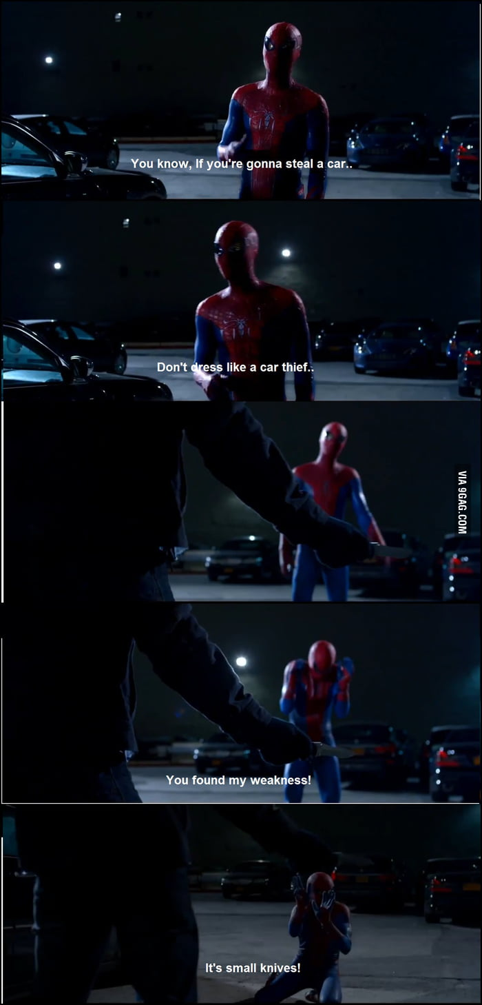 Just Spiderman Being Awesome