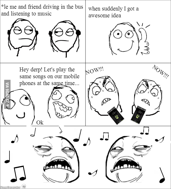 We all did this...
