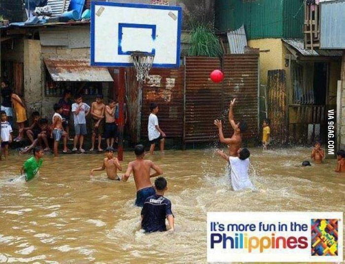 Basketball. More fun in the Philippines.