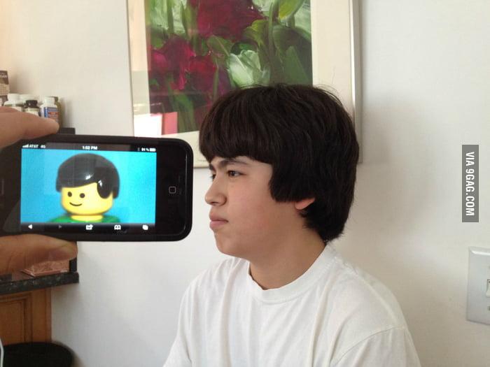 LEGO Man Hair