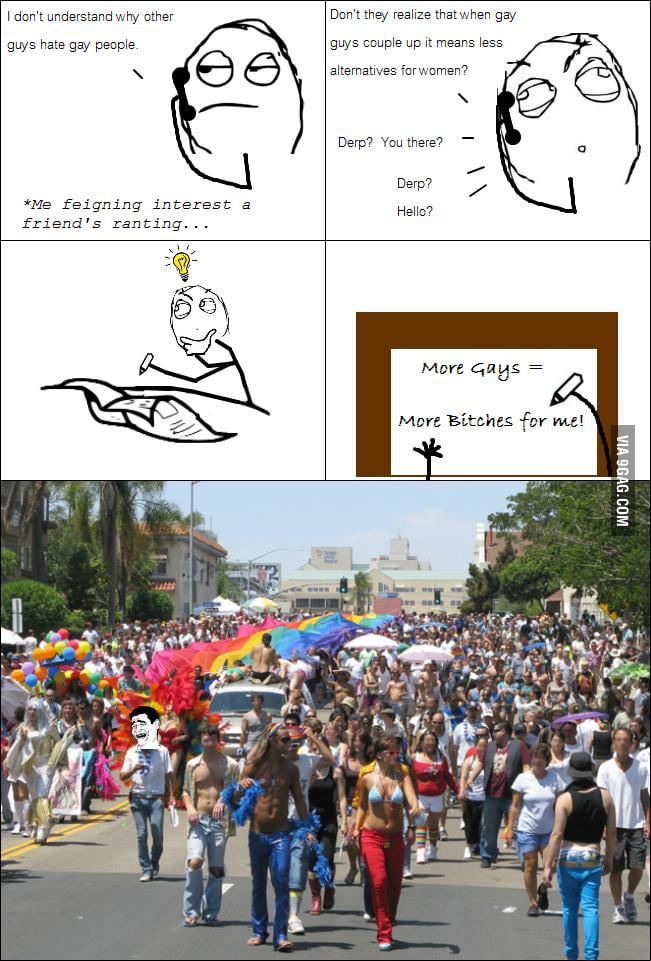 Why I love gay people!