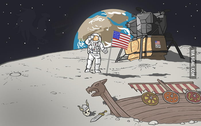 Who was first on the moon?