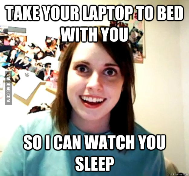 Take your laptop to bed with you