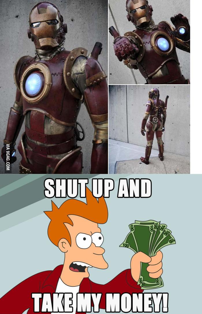 Ironman Costume Steampunk