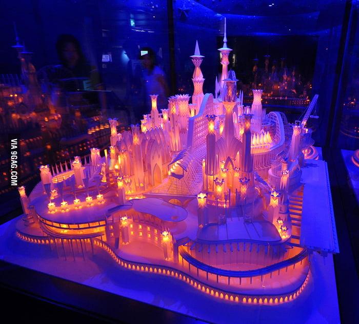 Beautiful Papercraft Castle