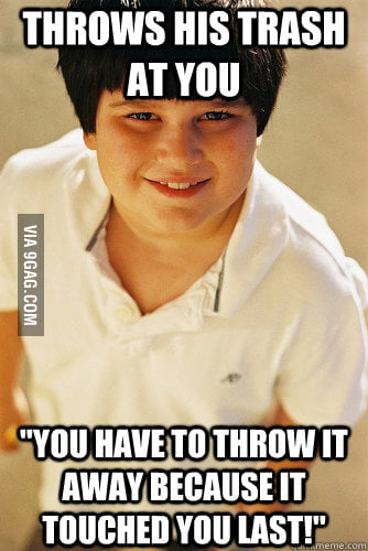 Bully Kid's Logic