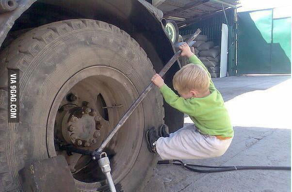 Young engineer...just trust him