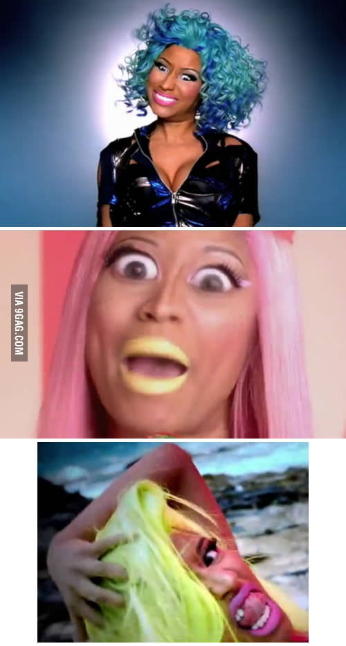 Why you should never pause a Nicki Minaj video