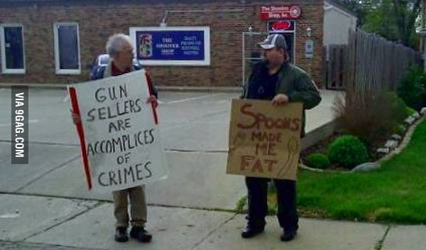 Gun sellers are accomplices of crimes