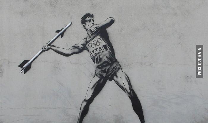 Banksy on the 2012 Olympics