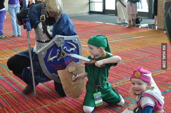 Cute Zelda Cosplay