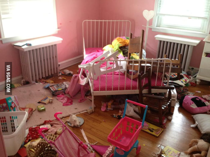 This is the room of a 4 year old kid.