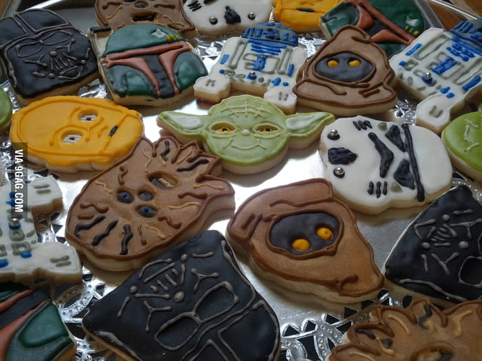 Awesome Star Wars Cookies