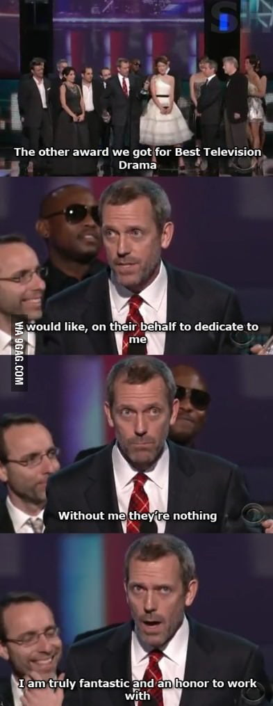 Just House being House