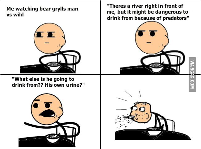 First time watching Bear Grylls