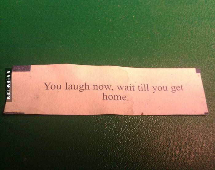 Creepiest fortune cookie I've ever received