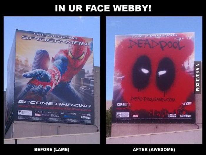 Deadpool ad campaign