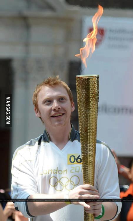 Ronald Weasley and the Goblet of Fire?