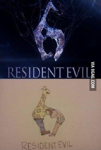resident evil 6 giraffe