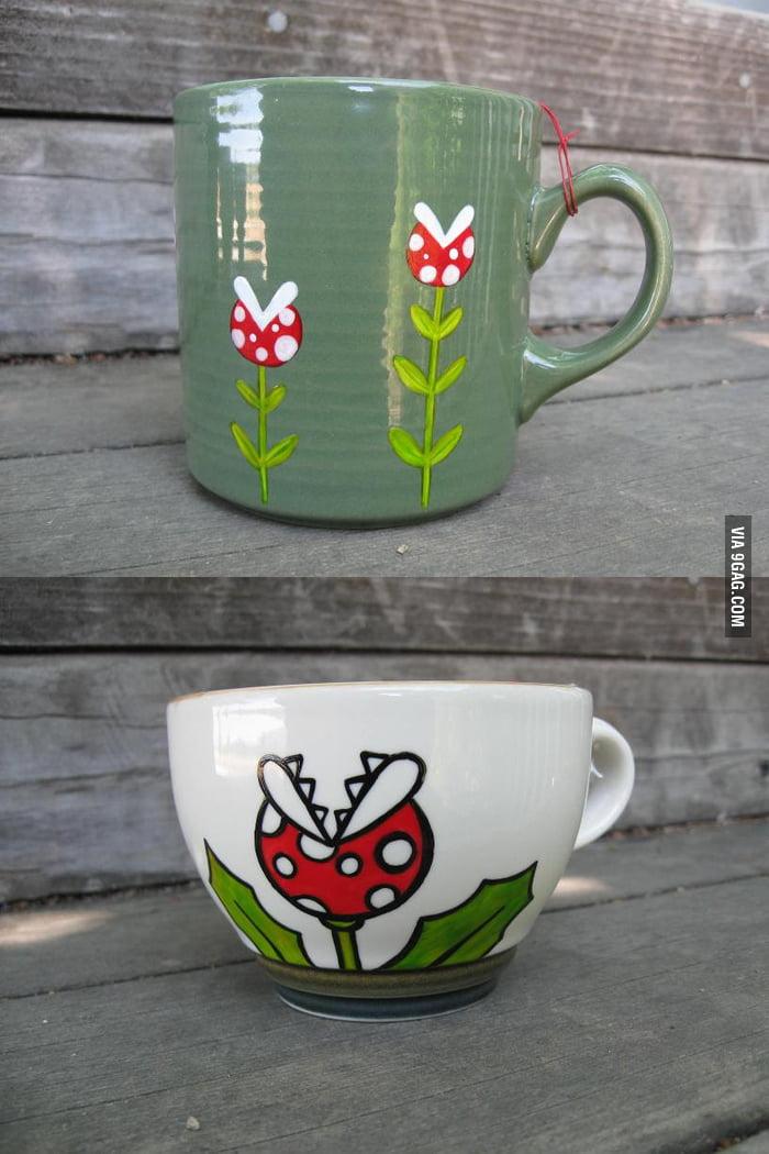 Piranha Plant Mugs