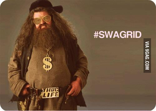 You don't need magic if you got swag