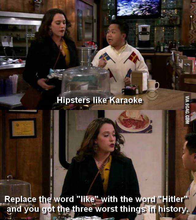 The writers of this show does not like hipsters. AT ALL.