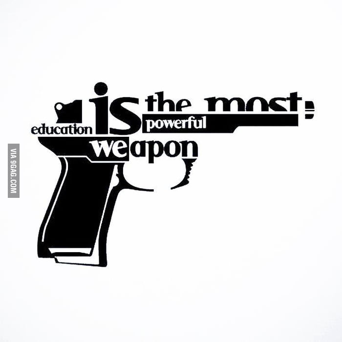 The most powerful weapon