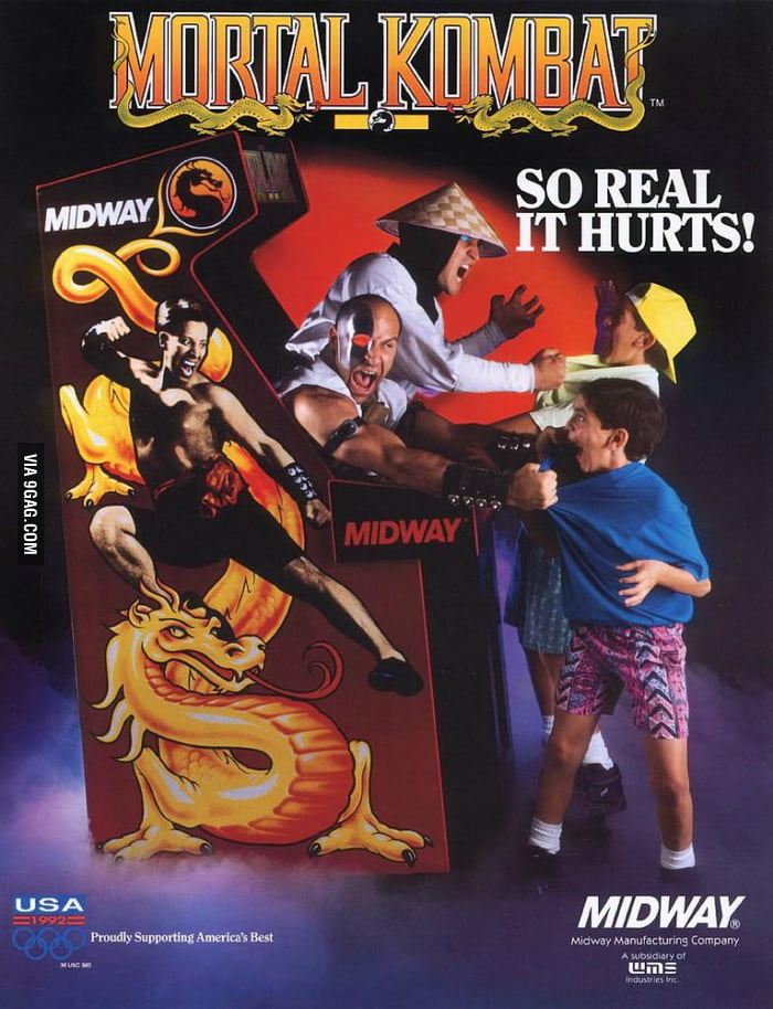 Mortal Kombat: SO REAL IT HURTS!