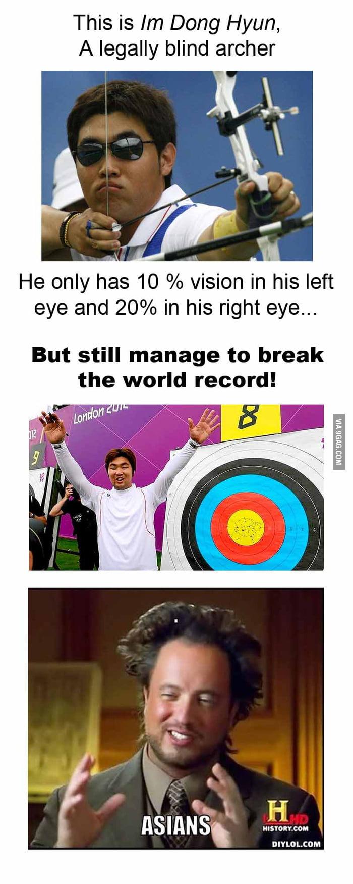 Asians strike again!