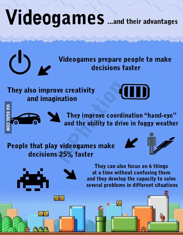 Video games and their advantages
