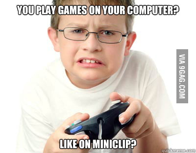 Young Video Gamer