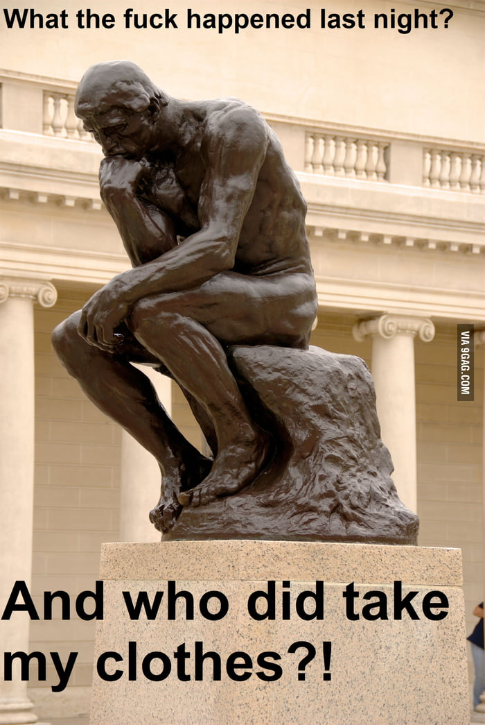 What The Thinker Really Thinks