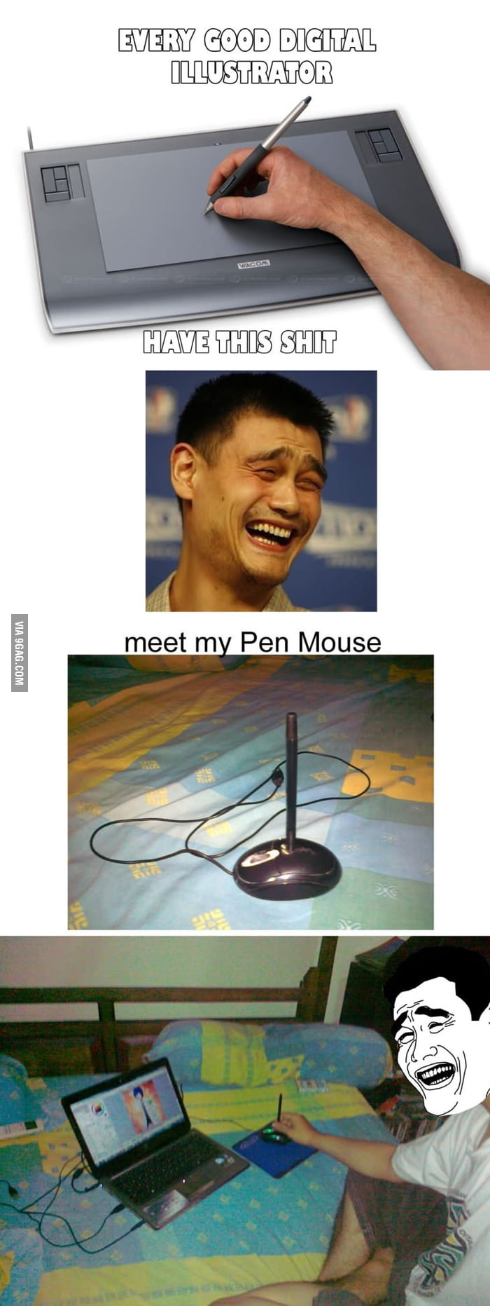 Graphic Tablet? Why Not Pen Mouse