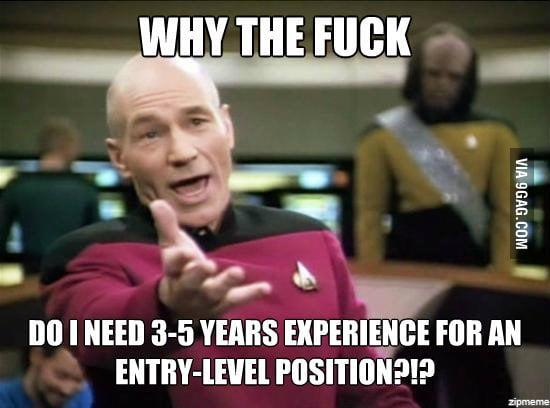 Looking for a post-grad job.