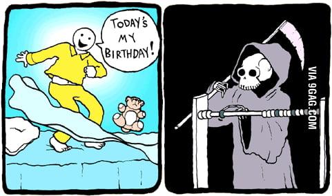 Today's my birthday!