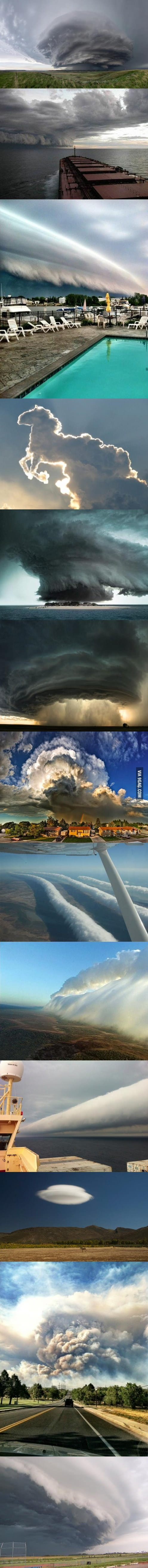 Awesome clouds!
