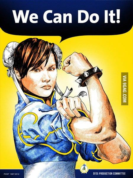 Chun-Li': We can do it!