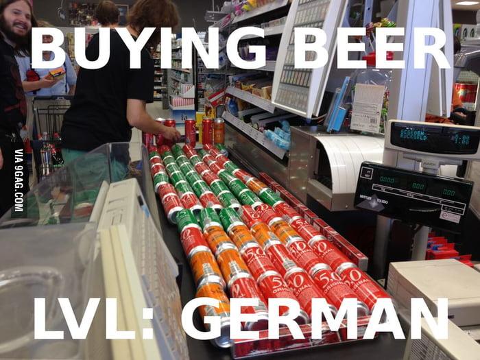 Buying Beer lvl German