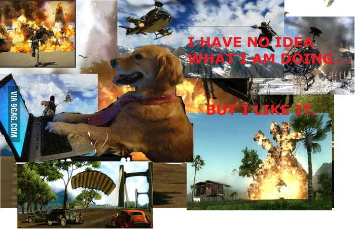 My experience in Just Cause 2 so far