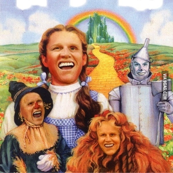 Wizard Of Oz Fan Art of the Day: Because Gary Busey.