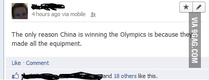 The reason China is winning the Olympics
