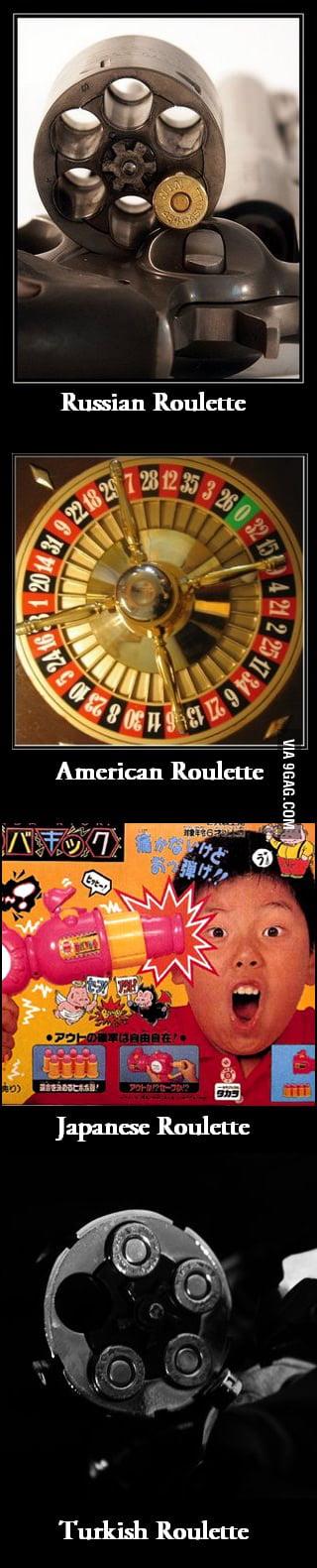 Gambling terms all in